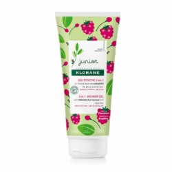 Klorane Gel de Ducha Fresa Junior 2 en 1 200ml