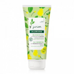Klorane Gel de Ducha Pera Junior 2 en 1 200 ml