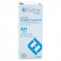 Farline Gotas Humectantes Ácido Hialuronico 0,2% 15ml