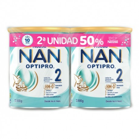 Nestle Pack Nan 2 800 Gramos