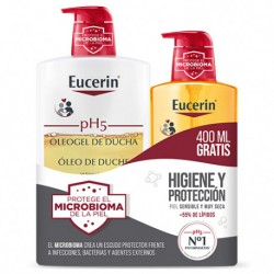 Eucerin PH5 Oleo Gel Ducha 1L + 400ml