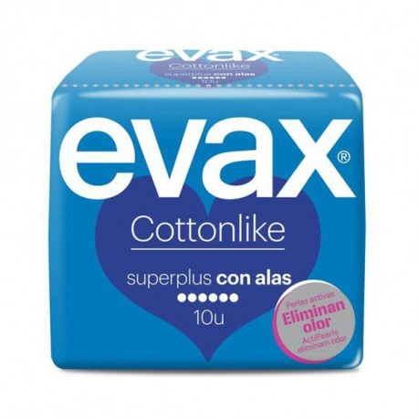 Evax Cottonlike Superplus 10 Compresas