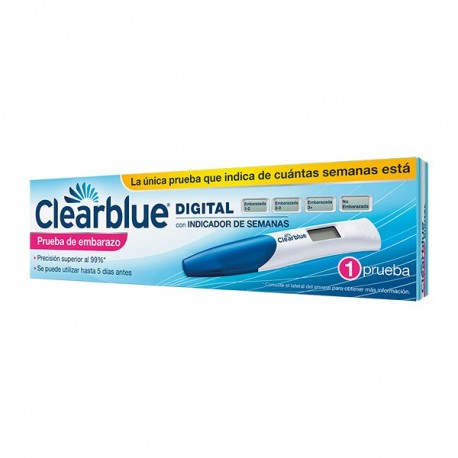 Test Embarazo Clear Blue Digital