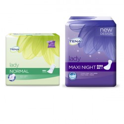 Tena Lady Promopack Normal + Maxi Night