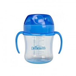 Dr Browns Taza Educativa +6 Meses 180 Ml