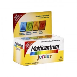 Multicentrum Junior 30 comprimidos masticables