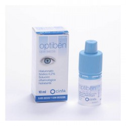 Optiben Sequedad Ocular Gotas