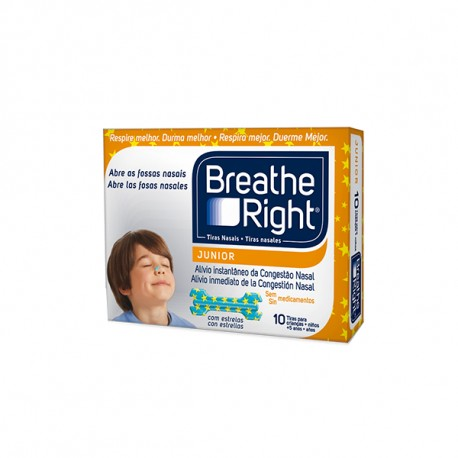 Breathe Right Tira Nasal Junior 10 uds