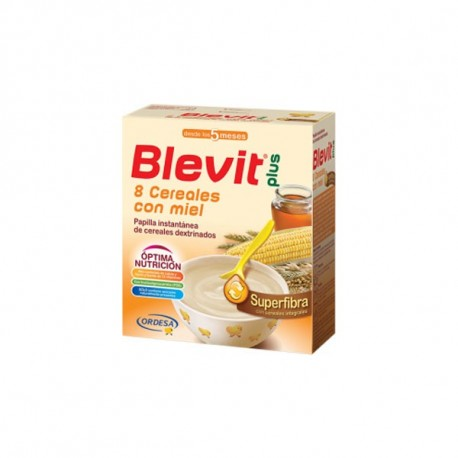 Blevit Plus Superfibra 8 Cereales Con Miel