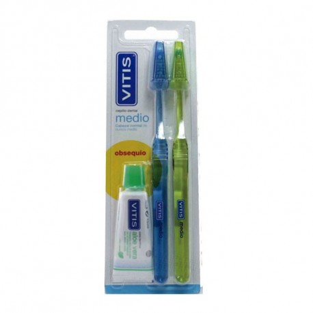 Vitis Cepillo Dental Medio Pack