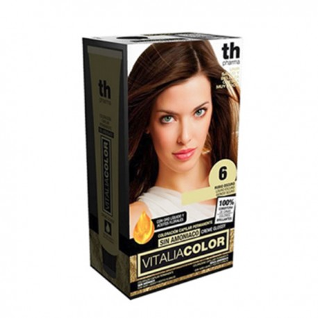 TH Pharma Vitalia Color Tinte Nº 6 Sin Amoniaco Rubio Oscuro
