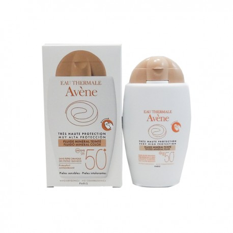 Avene Fluido Mineral SPF 50+ Color 40ml