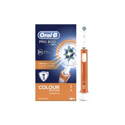 Oral-B CrossAction Pro 600 Cepillo Eléctrico Naranja 1ud