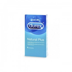 Durex Natural Plus Easy-On Preservativos 6uds