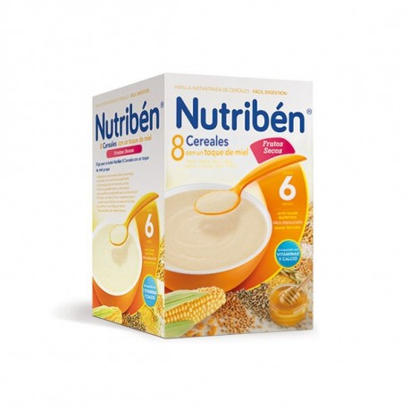 Nutriben 8 Cereales Con Miel y Frutos Secos