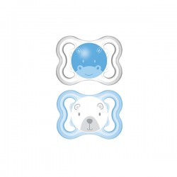 Mam Chupete Silicona Air 0-6 Meses 2Ud
