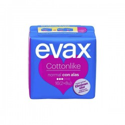 Evax Compresa Cottonlike Normal 16uds
