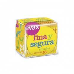 Evax Tocologicas Normal Sin Alas 16 Compresas