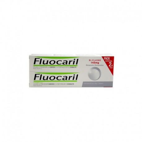 Fluocaril Blanqueante 2x75ml