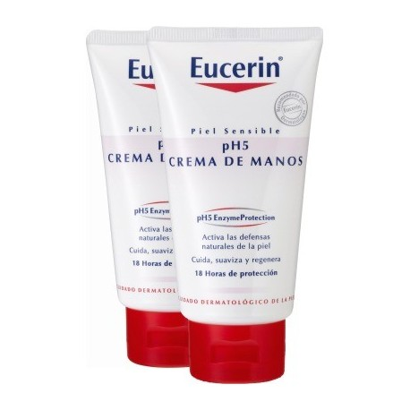 Eucerin Pack Crema Manos PH5 75 ml + 75 ml