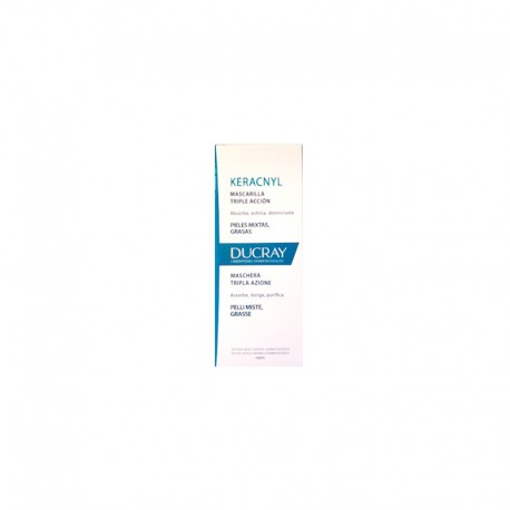 Ducray Keracnyl Mascarilla Facial Triple Acción 40ml