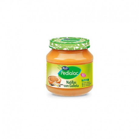 Hero Baby Pedialac Natillas Con Galletas 130g