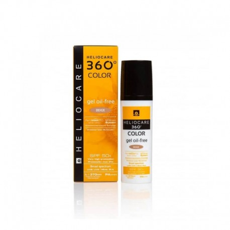 Heliocare 360 Color Beige Gel Oil-Free Spf50+ 50ml