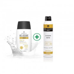 Heliocare 360 Pack Water Gel 360 50ml+ Spray Invisible 200ml