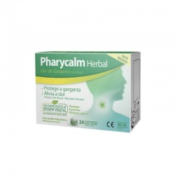 Pharycalm Herbal 24 Pastillas