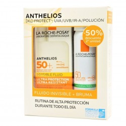 Anthelios Shaka Fluido Invisible Spf50+ 50ml+Bruma Fresca Invisible Spf50+ 75 ml