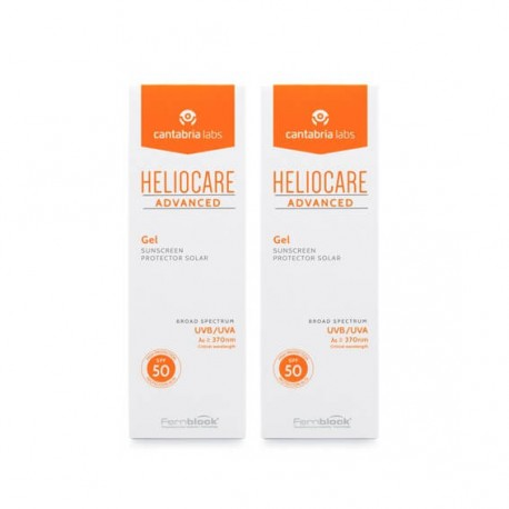 Heliocare Advanced Gel Protector Solar Sp50 Duplo 2x200 ml