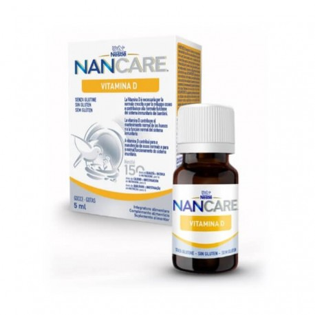 Nancare Vitamina D 5ml