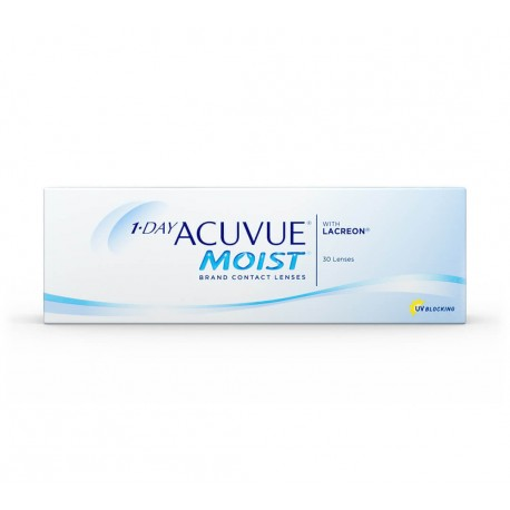 Lentes Acuvue 1 Day Moist 30 Unidades