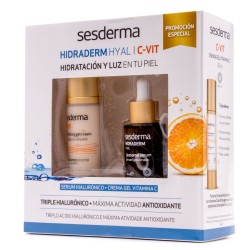 Sesderma Hidraderm Hyal Serum 30ml+ C Vit Crema Gel 50 ml