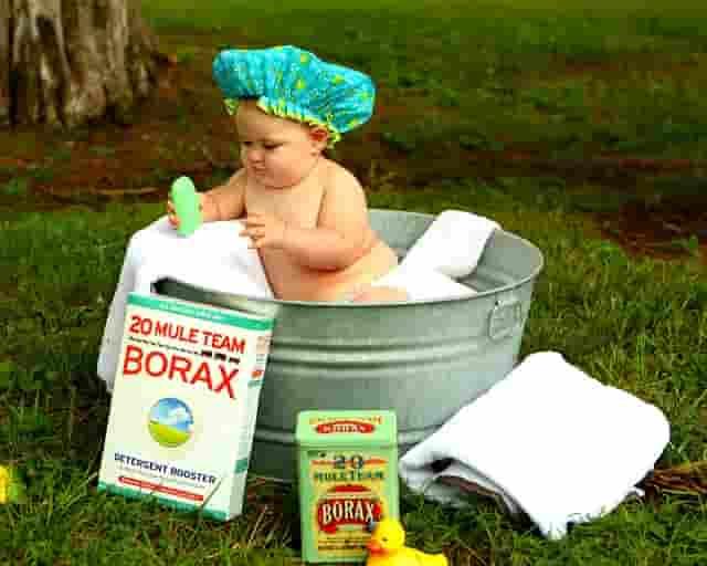 gel de baño para el bebé